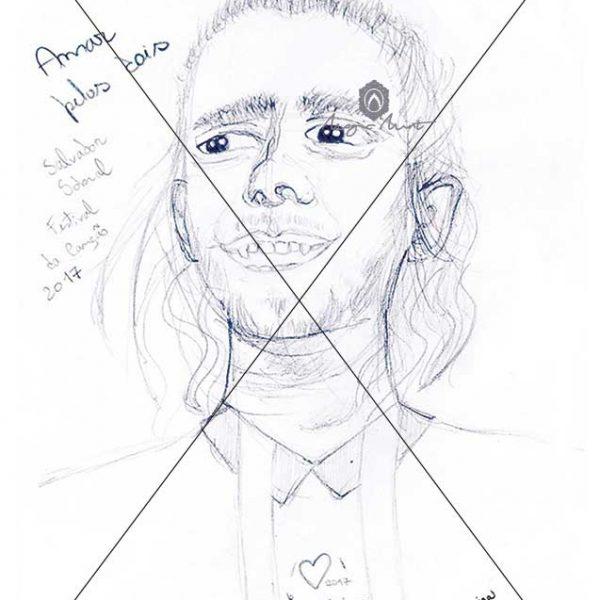 Portrait Salvador Sobral